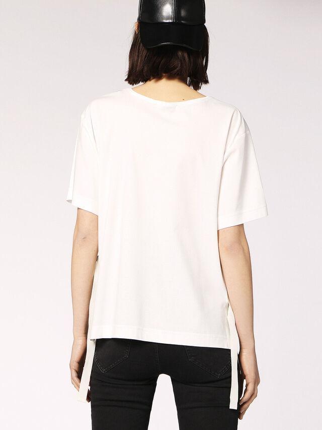 Diesel - T-FLEURIS, White - T-Shirts - Image 2