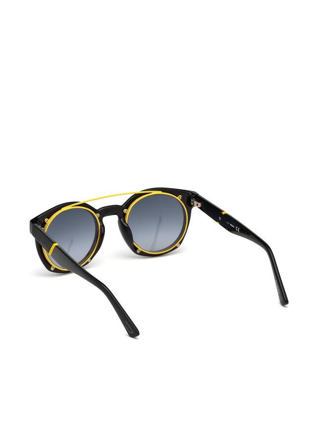 Diesel - DL0251, Black - Sunglasses - Image 2