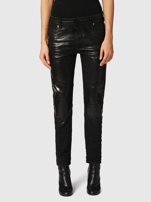 Diesel - Krailey JoggJeans 084JB, Black/Dark Grey - Jeans - Image 1