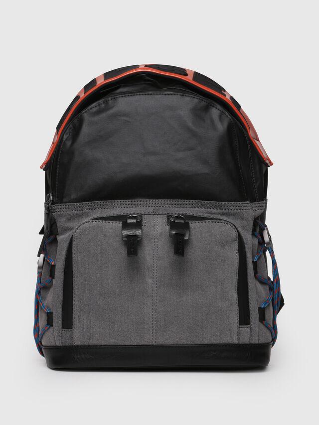 Diesel - D-MASTER BACK, Grey - Backpacks - Image 1