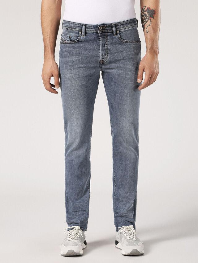 Diesel - Buster 084SJ, Light Grey - Jeans - Image 1