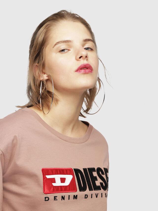Diesel - T-JACKY-D, Face Powder - T-Shirts - Image 3