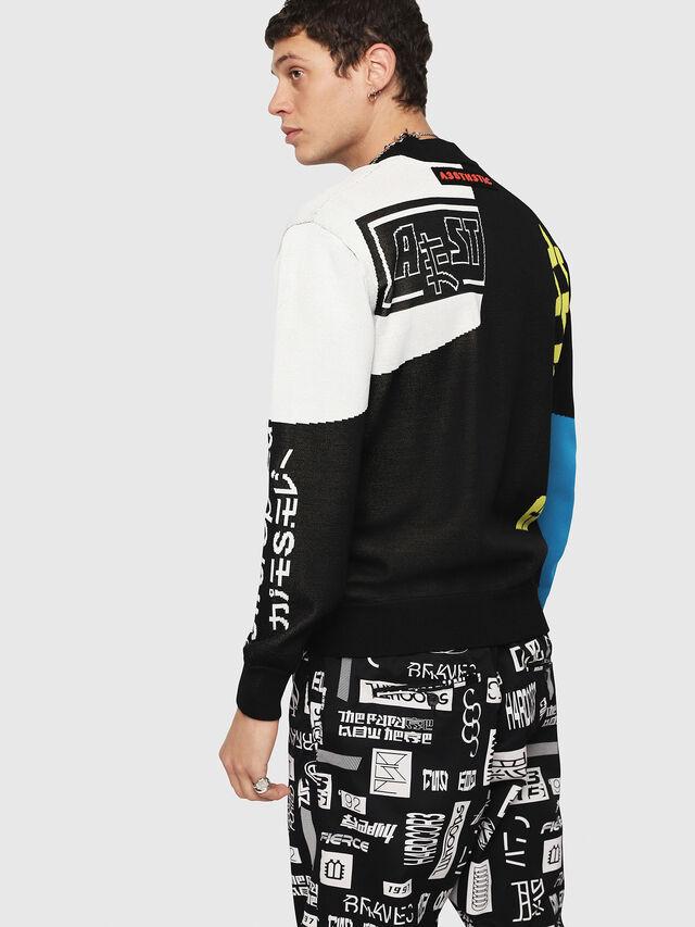 Diesel - K-RACIN, Multicolor - Sweaters - Image 2