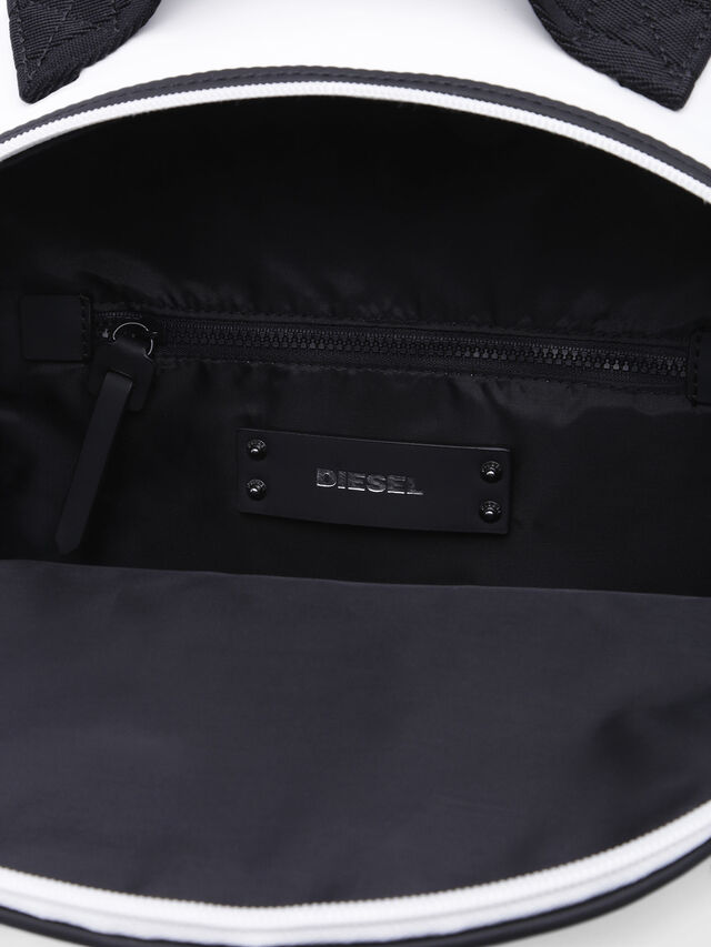 Diesel - F-BOLD BACK FL, White - Backpacks - Image 3