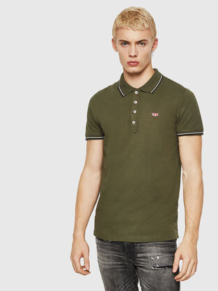 490b5a76 Mens Polos: short, long sleeves | Diesel Online Store