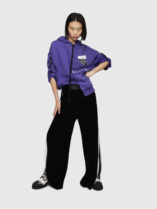 Diesel - F-MIKI, Violet - Sweatshirts - Image 4