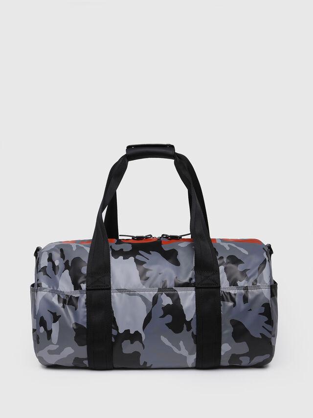 Diesel - F-BOLD DUFFLE, Grey Melange - Travel Bags - Image 2