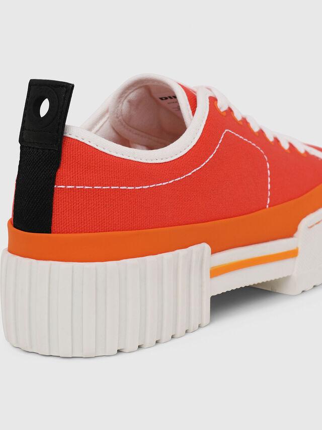 Diesel - S-MERLEY LC, Orange - Sneakers - Image 5