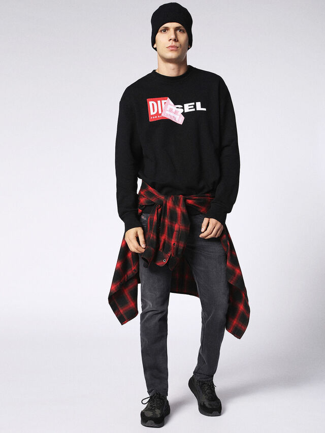 Diesel - BELTHER 0859X, Grey jeans - Jeans - Image 5