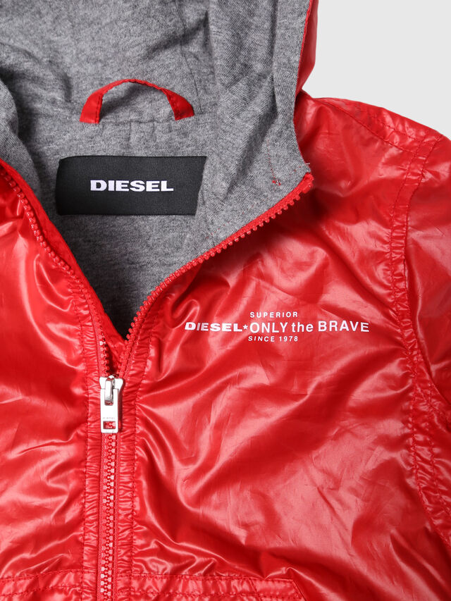 Diesel - JEFFOXB, Red/Grey - Jackets - Image 3