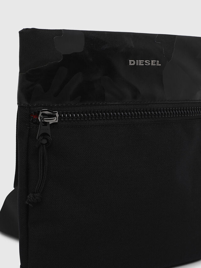 Diesel - F-URBHANITY CROSS, Dark Blue - Crossbody Bags - Image 4