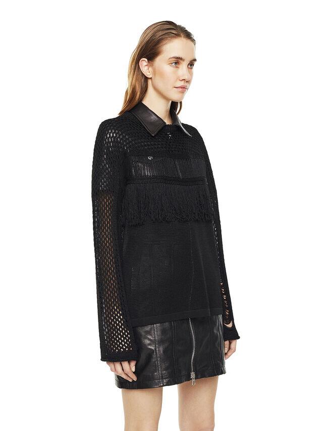 Diesel - MOFRAN, Black - Sweaters - Image 5