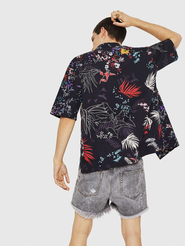 Diesel - S-FRY-FLOW, Multicolor/Black - Shirts - Image 2