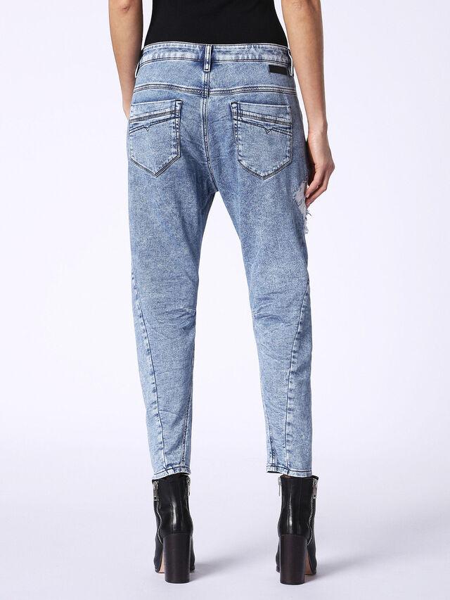 Diesel - Fayza JoggJeans 084PV, Light Blue - Jeans - Image 3