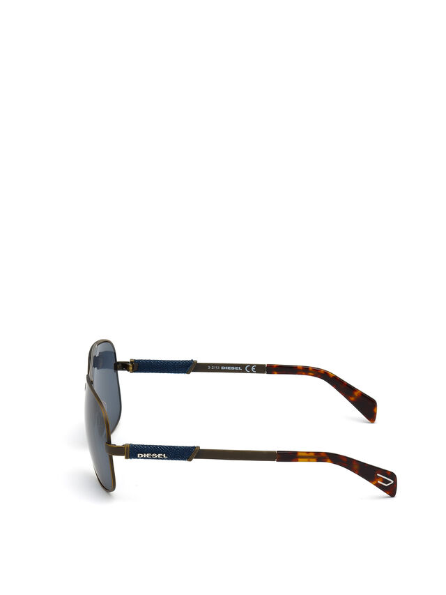 Diesel DL0088, Brown - Eyewear - Image 4