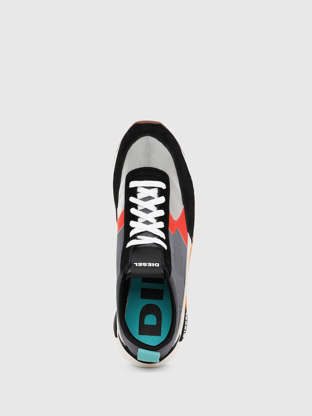 Diesel - S-KB LOW LACE II, Multicolor/Black - Sneakers - Image 4
