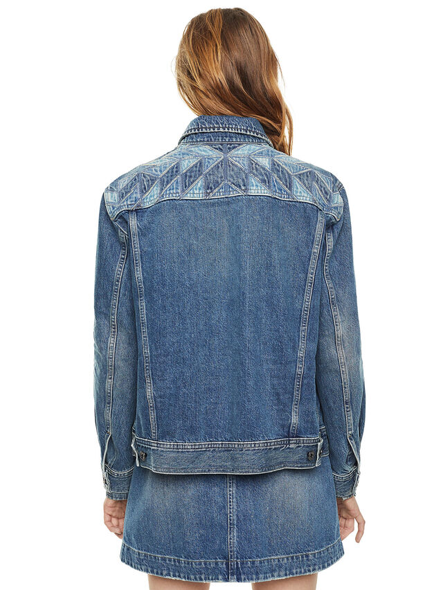 Diesel - WONDERY, Blue Jeans - Jackets - Image 2