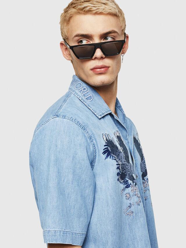 Diesel - D-RASHI, Blue Jeans - Denim Shirts - Image 3