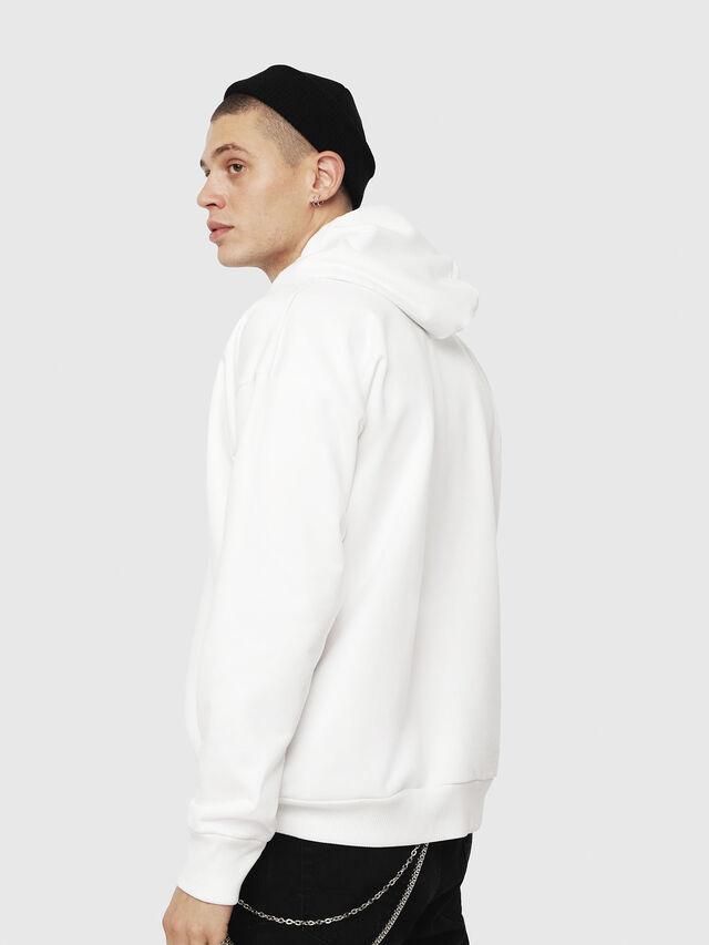 Diesel - S-DIVISION, White - Sweatshirts - Image 2