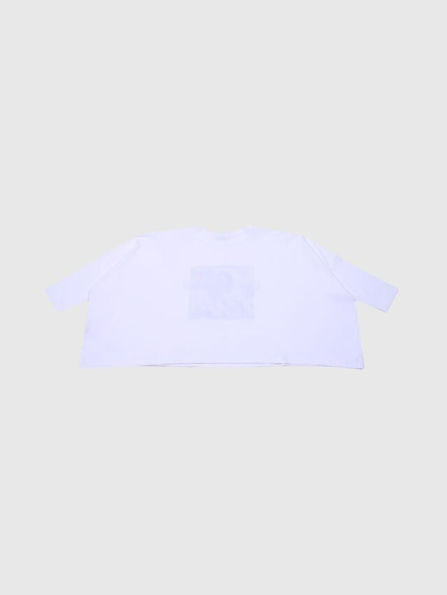 Diesel - TJSUPA SLV, White - T-shirts and Tops - Image 3