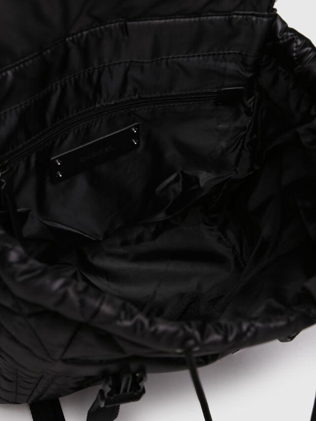 Diesel - NYDUVET BACKPACK, Black - Backpacks - Image 4