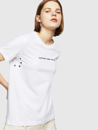 018a6bb8 Womens T-shirts and Tops | Diesel Online Store