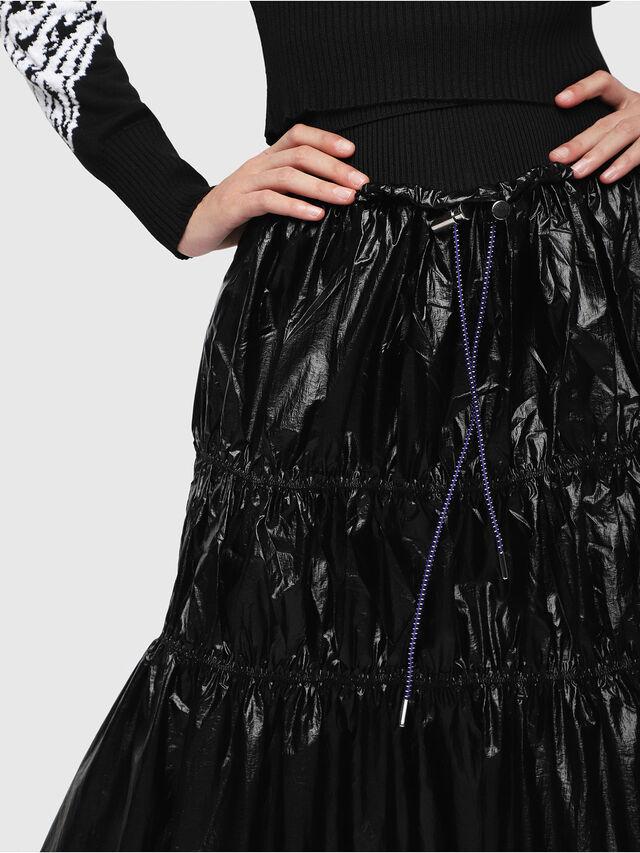 Diesel - O-LIN, Black - Skirts - Image 3