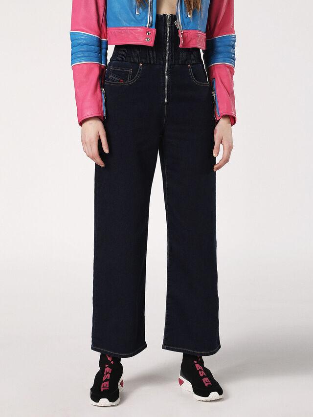 Diesel - Phyl JoggJeans 0689Y, Dark Blue - Jeans - Image 1
