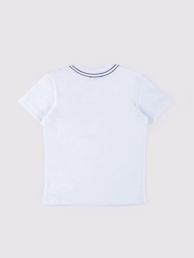 Diesel - TEXXY SLIM MC, White - T-shirts and Tops - Image 2