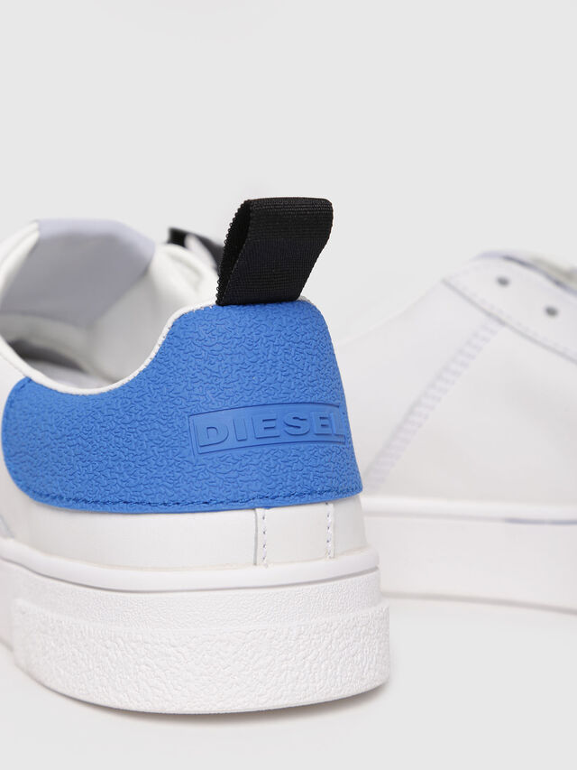 Diesel - S-CLEVER LOW W, White/Blue - Sneakers - Image 4