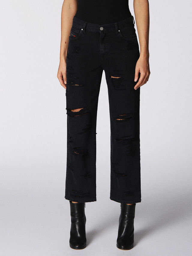Diesel - Niclah 084NZ, Black/Dark Grey - Jeans - Image 2