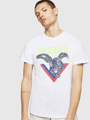 f58b1ad70 Mens T-shirts: logo, graphics | Diesel Online Store