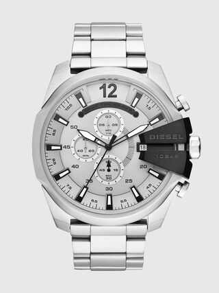 de74f9ab4 Mega Chief chronograph stainless steel watch