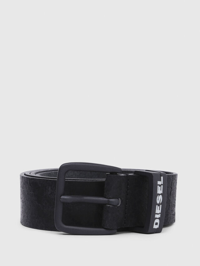 Diesel - B-ARQUA, Black - Belts - Image 1