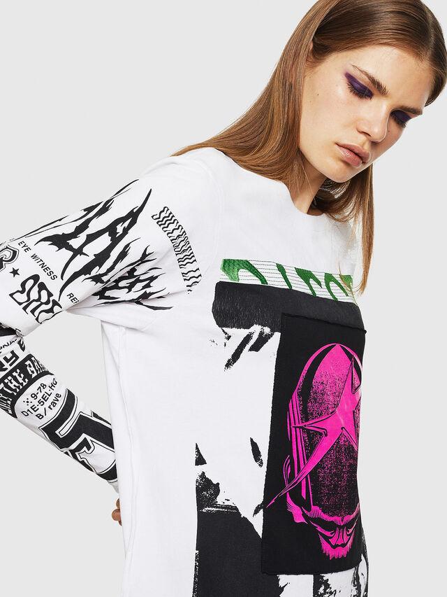 Diesel - T-PAISS, White - T-Shirts - Image 5
