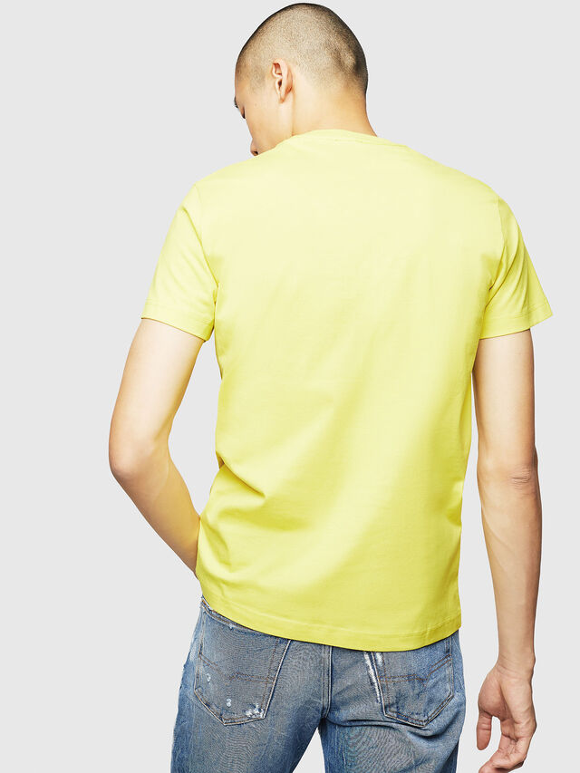 Diesel - T-DIEGO-B3, Yellow - T-Shirts - Image 2