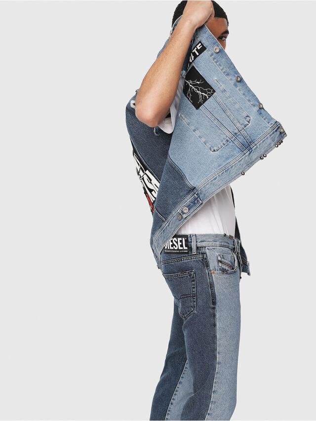 Diesel - Mharky 0077Z, Medium Blue - Jeans - Image 3