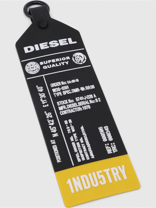 Diesel - VOLPAGO CROSSPLUS, Black - Crossbody Bags - Image 6