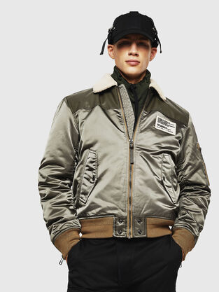 e4b397fde Mens Jackets: denim, leather | Diesel Online Store