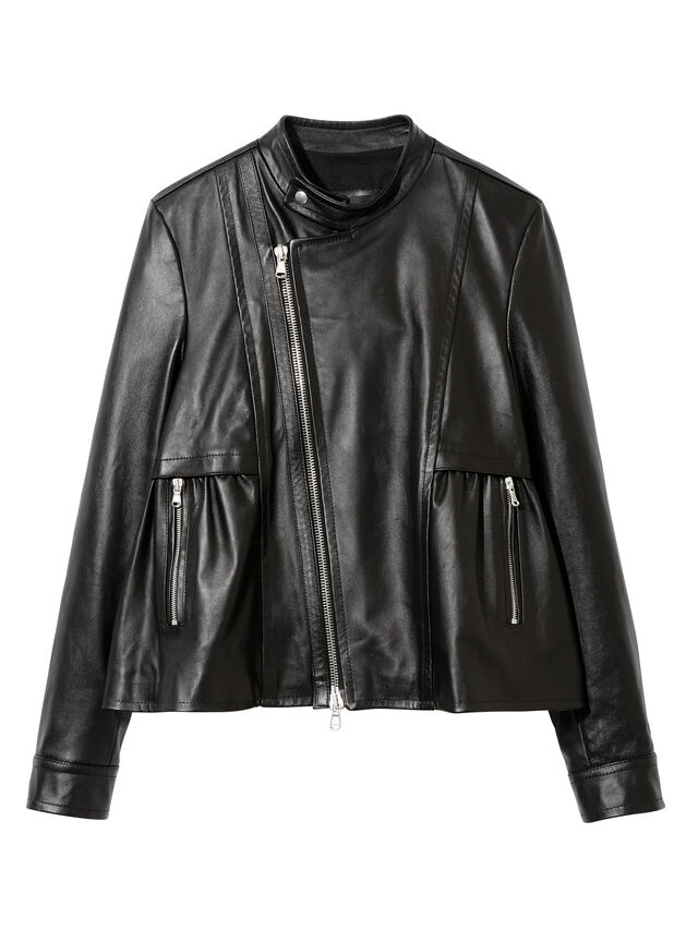 Diesel - LIKY, Black Leather - Leather jackets - Image 5