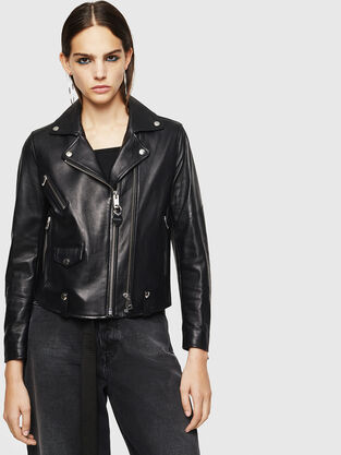 2d6c819a4 Womens Leather Jackets | Diesel Online Store