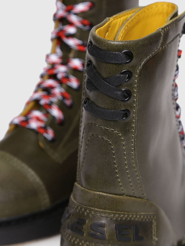 Diesel - D-CAGE DBB, Olive Green - Boots - Image 4