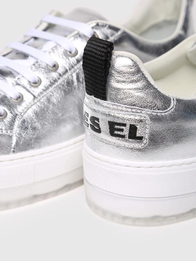 Diesel - S-LENGLAS LOW LACE, Silver - Sneakers - Image 4