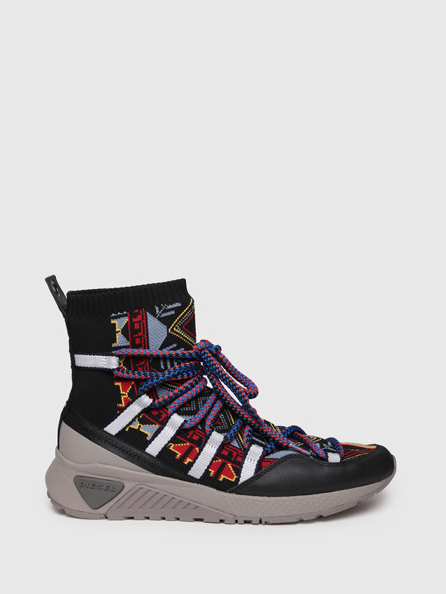 Diesel - S-KB LOOP SOCK, Multicolor - Sneakers - Image 1