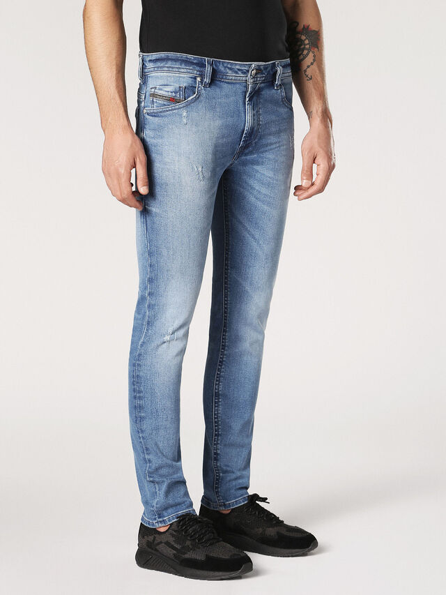 Diesel - Thommer C84NV, Light Blue - Jeans - Image 4