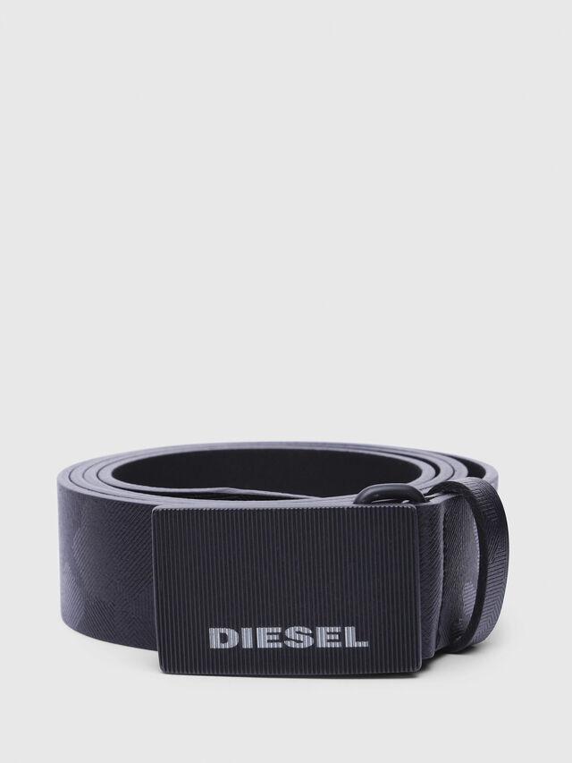 Diesel - B-BORSO, Black - Belts - Image 1
