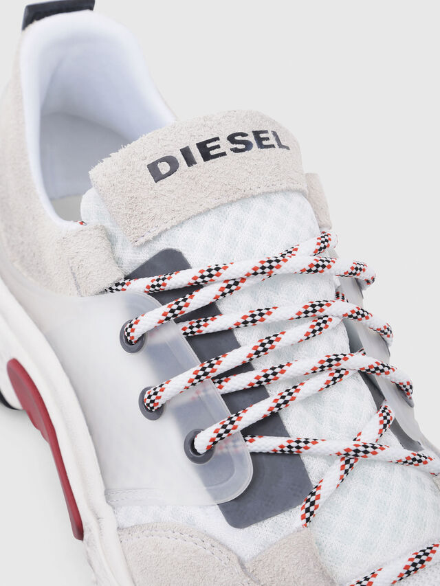 Diesel - S-KIPPER LOW LACE, White - Sneakers - Image 4