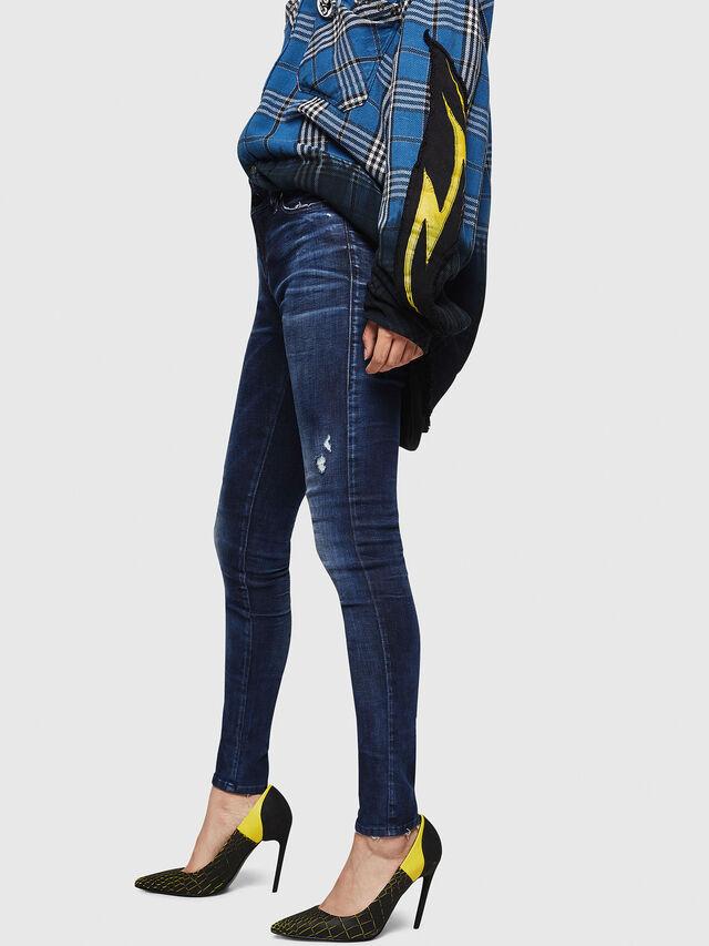 Diesel - Slandy 069IB, Dark Blue - Jeans - Image 3