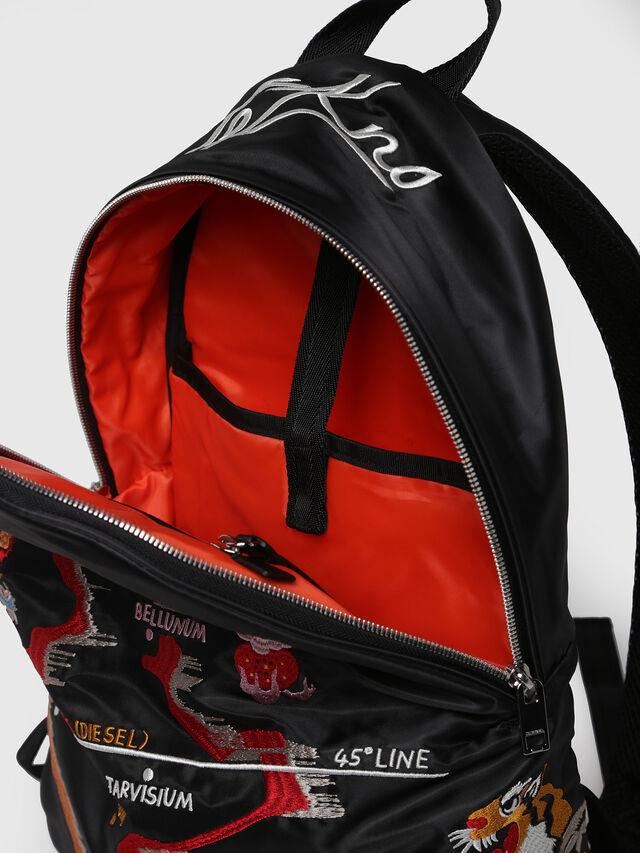 Diesel - M-TOKYO BACK TEKNO, Black/Red - Backpacks - Image 3