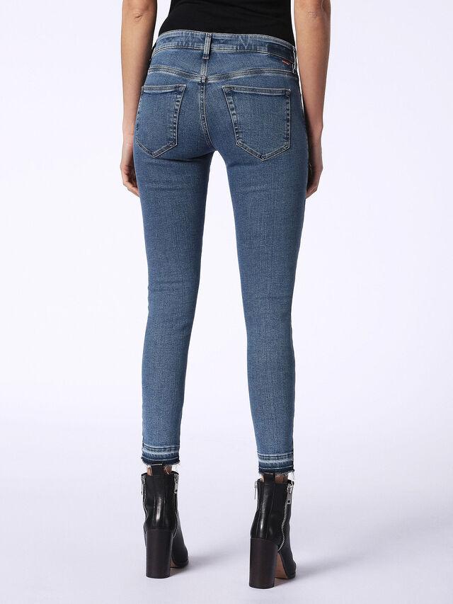 Diesel - Slandy 0699I, Blue Jeans - Jeans - Image 3